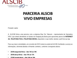 Parceria ALSCIB X VIVO EMPRESAS
