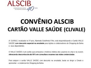 PARCERIA ALSCIB X VALLE SAÚDE (CLIVALE)