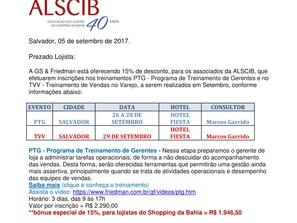 PARCERIA ALSCIB X GRUPO FRIEDMAN