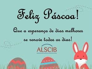 Desejamos uma Feliz Páscoa!