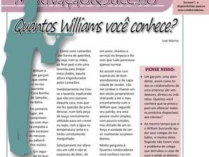 Quantos Willians você conhece?