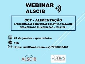 Webinar ALSCIB - Apresentação CCT Alimentação 2020/2021