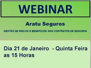 Webinar ALSCIB - Parceria Aratu Seguros 21.01 - quinta-feira