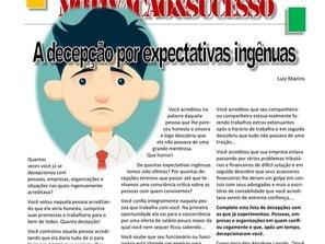 A decepção por expectativas ingênuas