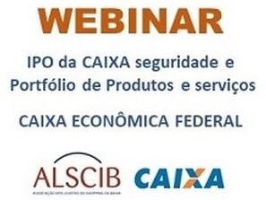 Webinar ALSCIB - Parceria Caixa Econômica Federal