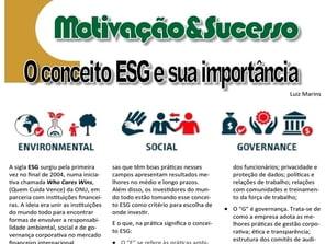 Conceito ESG e sua importância