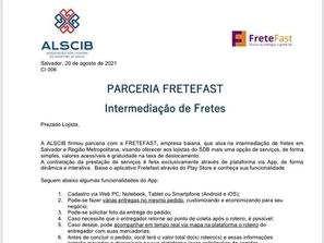 Parceria ALSCIB - FreteFast