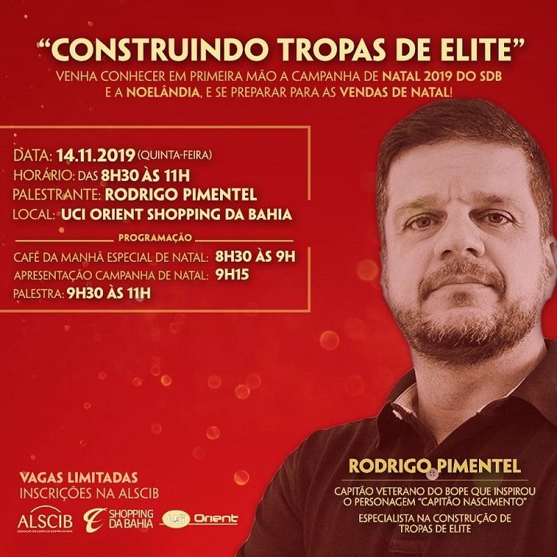 Palestra Construindo Tropas de Elite com Rodrigo Pimentel